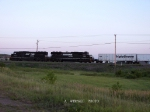 NS 6706 & 2558 eb Triple Crown at Truax (Eau Claire)